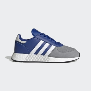 Tênis Marathon Tech Team Royal Blue / Cloud White / Grey Three EF4395