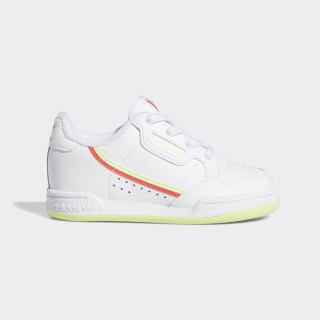 Continental 80 Shoes Cloud White / Shock Red / Hi-Res Yellow EE4414