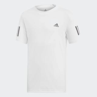 Camiseta Club 3 bandas White / Black DU2486