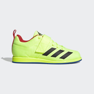 Powerlift 4 Shoes Hi-Res Yellow / Core Black / Blue BC0348