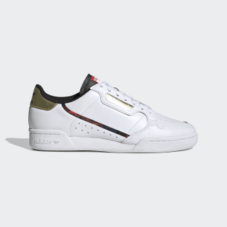 Continental 80 Shoes Cloud White / Gold Metallic / Core Black FW5325
