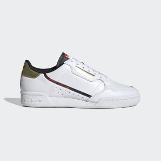 Continental 80 Shoes Cloud White / Gold Metallic / Core Black FW5325