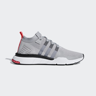 EQT Support Mid ADV Primeknit Shoes Grey Two / Grey Three / Core Black BD7775