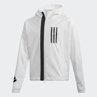 Chaqueta Rompevientos ID WND White / Black DZ1794