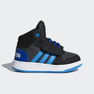 Tenis Hoops 2.0 Mid CARBON S18/BRIGHT BLUE/CORE BLACK DB1941