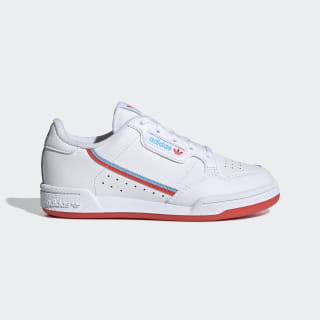 Continental 80 Shoes Cloud White / Bright Red / Bright Cyan EG7315