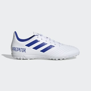 Calzado de fútbol Predator Tango 19.4 Pasto Sintético ftwr white / bold blue / ftwr white D97971