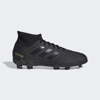 Predator 19.3 Firm Ground Voetbalschoenen Core Black / Core Black / Gold Met. G25794
