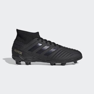 รองเท้าฟุตบอล Predator 19.3 Firm Ground Core Black / Core Black / Gold Metallic G25794