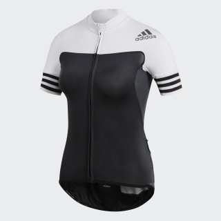 Adistar Wielrenshirt Black / White CV6685
