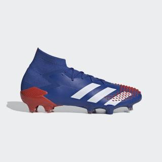 Botas Futebol Predator Mutator 20.1 – Piso firme Team Royal Blue / Cloud White / Active Red EG1600