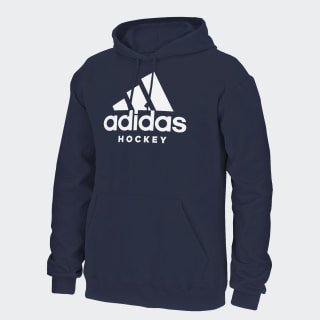 Badge of Sport Hockey Hoodie White CL2203