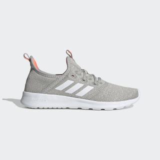 Cloudfoam Pure Shoes Metal Grey / Chalk White / Signal Coral EG3845