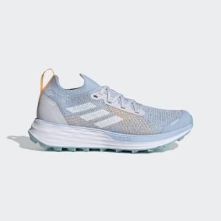 Sapatos de Trail Running Terrex Two Parley Dash Grey / Cloud White / Blue Spirit FW2533