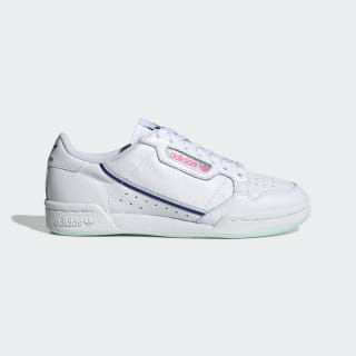 Continental 80 Shoes Cloud White / Ice Mint / Active Blue G27725