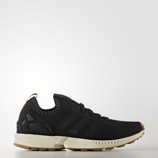 ZX Flux Primeknit Shoes Core Black/Gum BA7371