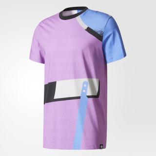 Camiseta Archive Catalog Purple/White/Multicolor BR3404