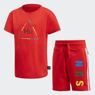 Completo Pharrell Williams Tee Red FR9067
