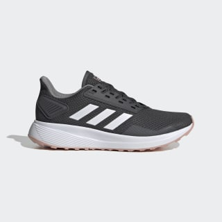 Duramo 9 Schuh Grey Six / Cloud White / Pink Spirit EG8672