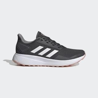 Zapatillas para correr Duramo 9 Grey Six / Cloud White / Pink Spirit EG8672