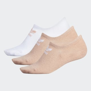 Lurex Super-No-Show Socks 3 Pairs Light Pink CK6742