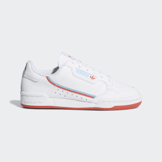 Кроссовки Continental 80 ftwr white / bright red / bright cyan EG7313
