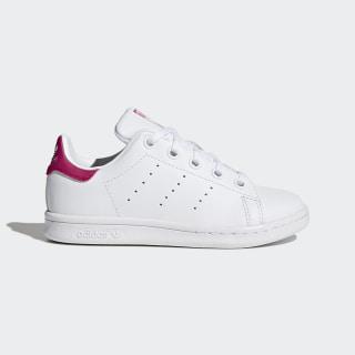Stan Smith Ayakkabı Cloud White / Cloud White / Bold Pink BA8377