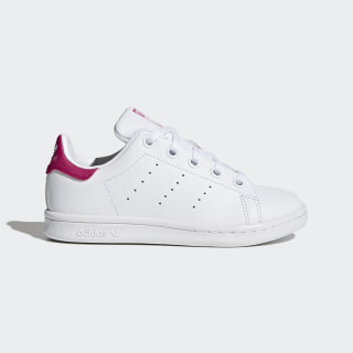Stan Smith Schuh Footwear White / Bold Pink / Bold Pink BA8377