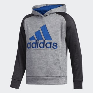 Fusion Pullover Hoodie Black / Blue CK5196