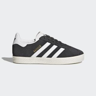 Chaussure Gazelle Dark Grey Heather/Footwear White/Gold Metallic BB2508