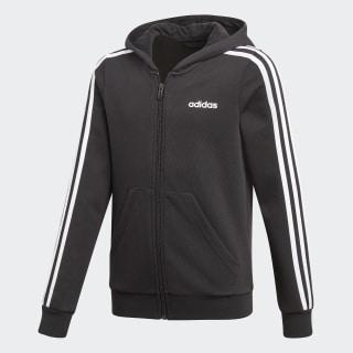Veste à capuche Essentials 3-Stripes Black / White DV0368