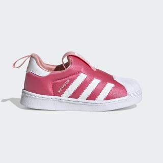 Tênis Superstar 360 Real Pink / Cloud White / Glory Pink EF6629
