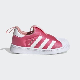 Zapatillas Superstar 360 Real Pink / Cloud White / Glory Pink EF6629