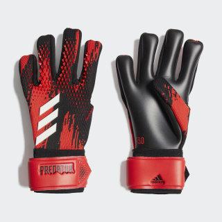 Brankárske rukavice Predator 20 League Black / Active Red FH7291