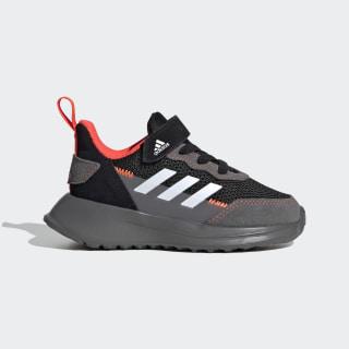 RapidaRun Elite S and L Shoes Core Black / Cloud White / Solar Red EF9406