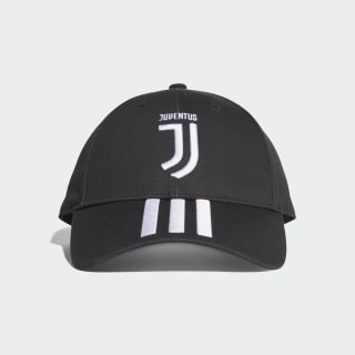 Juventus 3-Stripes Cap Black / White CY5558