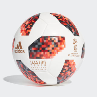 Bola FIFA World Cup Eliminatórias Oficial White / Solar Red / Black CW4680