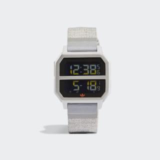 Archive_R2 Nite Jogger Watch Grey Two / Grey Three / Solar Orange CL6130