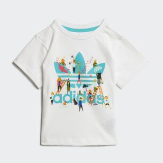 Camiseta Originals White / Multicolor ED7707