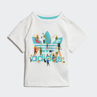 T-shirt White / Multicolor ED7707