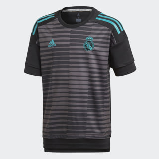 Домашняя предматчевая футболка Реал Мадрид black / granite CF1590