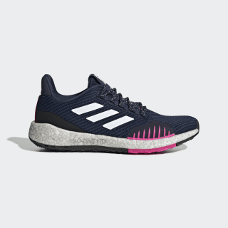Tenis para correr Pureboost HD Winter Collegiate Navy / Cloud White / Shock Pink EF8909