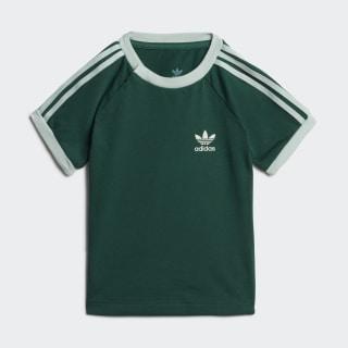 Koszulka 3-Stripes Collegiate Green / Vapour Green EJ9366