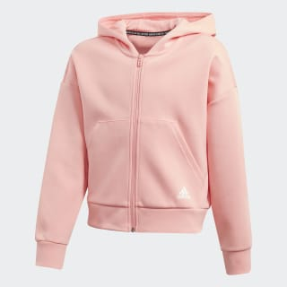 Толстовка Must Haves 3-Stripes Glory Pink / White FL1805
