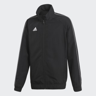 Core 18 Presentation Track Top Black / White CE9044