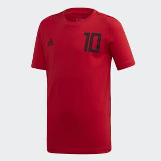 Salah 10 Graphic Tişört Scarlet FT1441