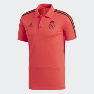 Real Madrid Ultimate Polo Shirt Real Coral / Black DP7662