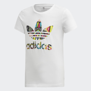 Camiseta Slim white/MULTICOLOR ED7871