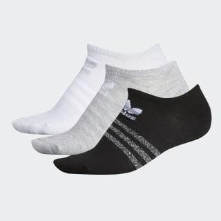 Lurex No-Show Socks 3 Pairs Multicolor CK6741