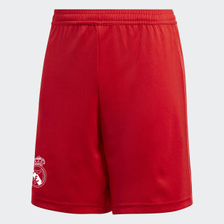 Real Madrid Third Shorts Youth Vivid Red DQ0871